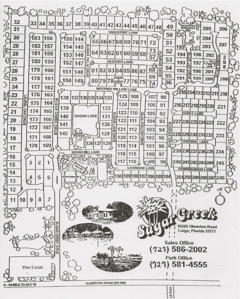 Sugar Creek Community Map