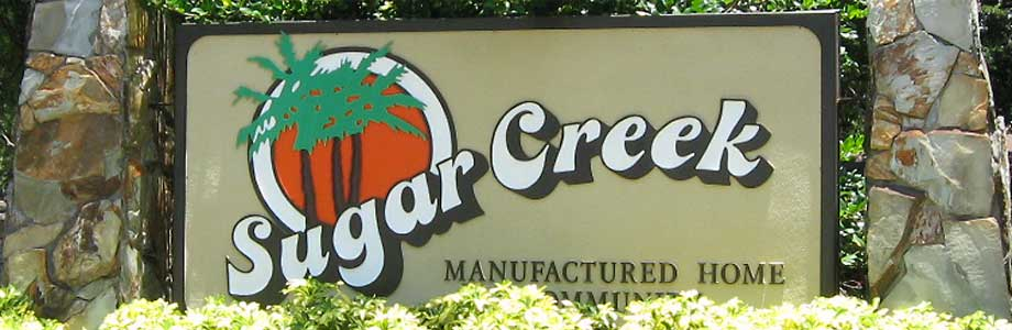 Sugar Creek Entrance