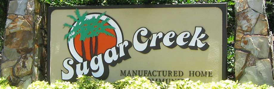 Sugar Creek Entrance
